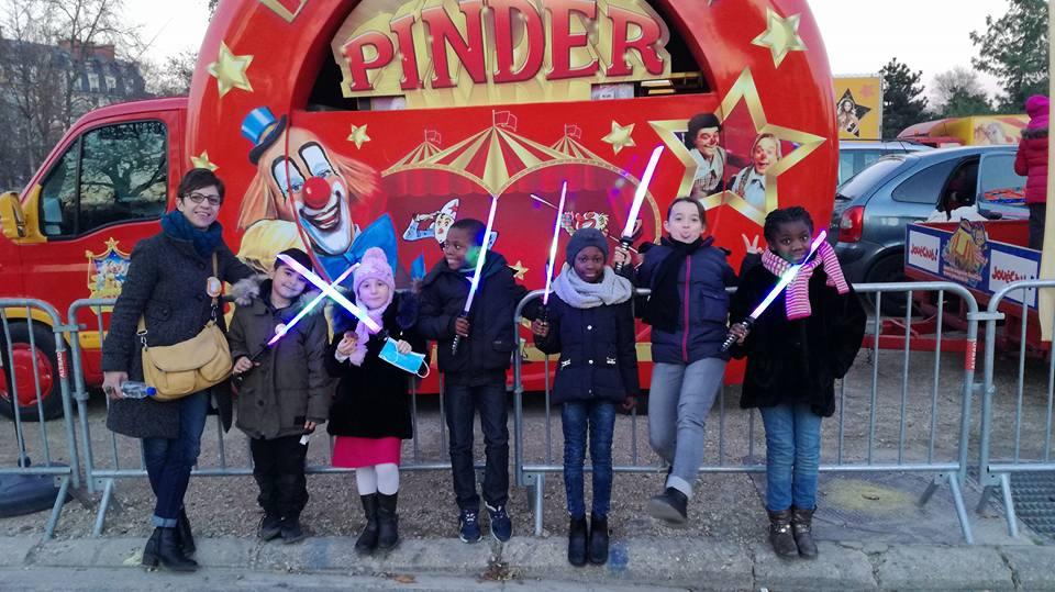 Sortie au cirque Pinder