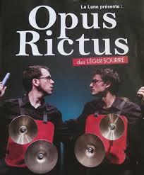 Sortie théâtre «Opus Rictus»