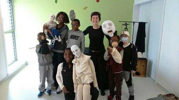 Spectacle de marionnettes au CHSF